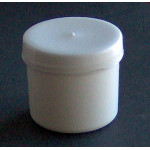 Kelímok  50ml biely+uzáver biely skrutkovací