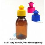 Liekovka 100 ml plast+uzáver kvapací Push-Pull . ,